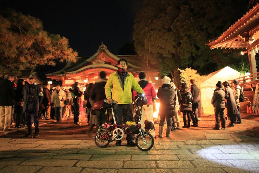 初詣サイクリング(^_^)b