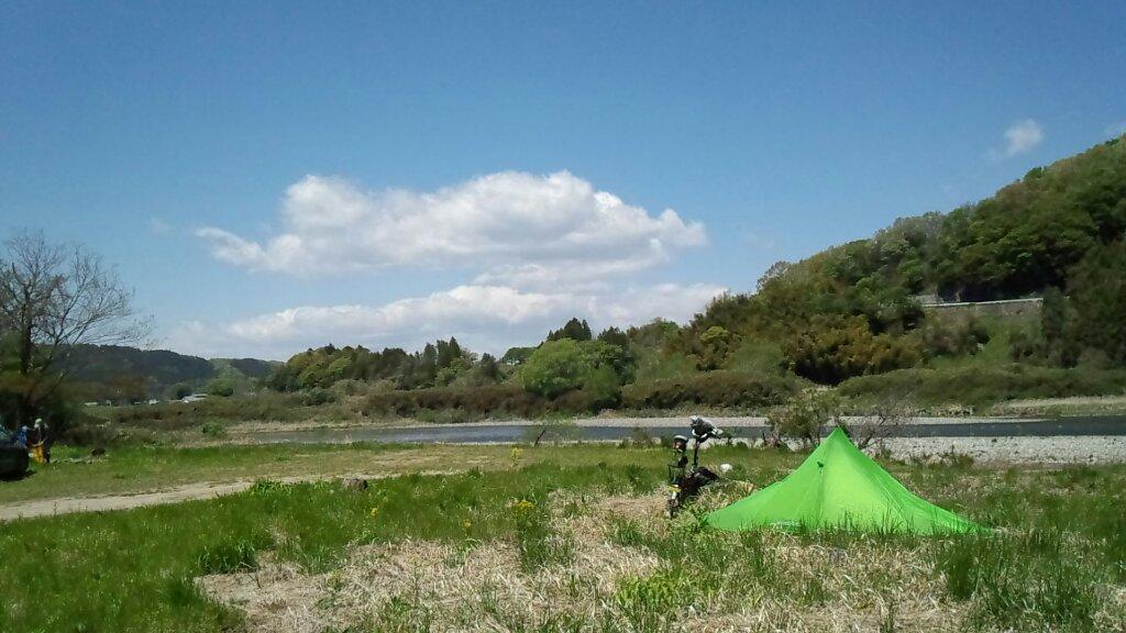 2ヵ月ぶりのキャンプ場(^_^)b
